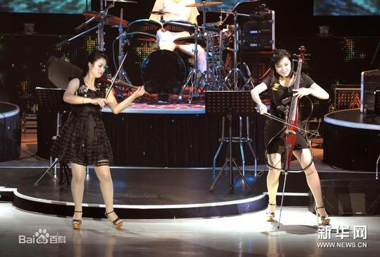 牡丹峰乐团照片