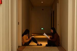 艺考生的考前最后一夜:在宾馆坚持备战(图)