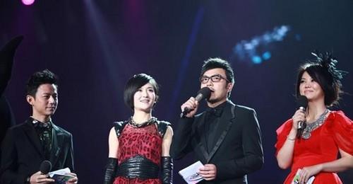 谢娜多次主持湖南卫视跨年演唱会