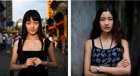 两位北京美女