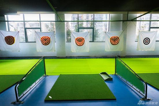 宁波鄞州赫德实验学校室内高尔夫球馆