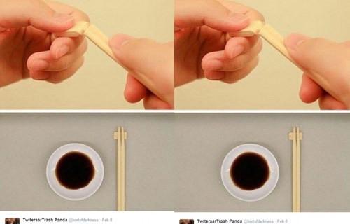 一次性筷子怎么用
