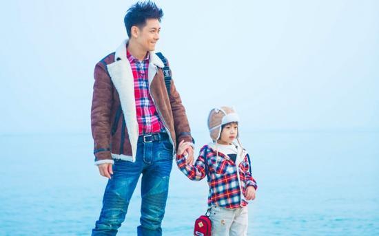 林志颖和儿子kimi