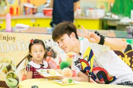 甜馨和爸爸贾乃亮