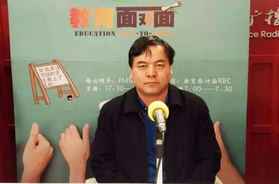 北京培黎职业学院招办主任王志斌