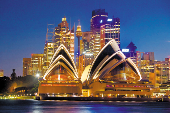澳大利亚是国际移民亲睐的定居国之一 图/东方IC
