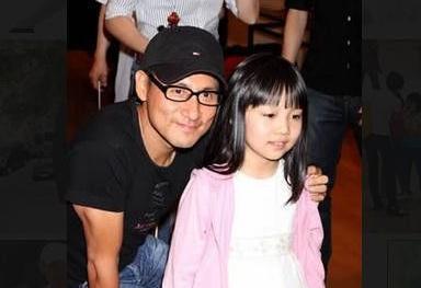 张学友与小女儿