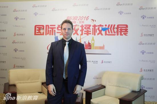 北京爱迪国际学校 副校长Paul Keatley