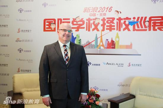 北京君诚国际双语学校外方校长Gary Dimitratos先生
