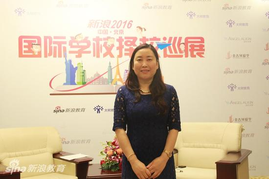 樱知叶教育美国高中部总监 李素荣
