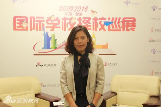 赛尔教育海外招生事业部总经理 张新颖