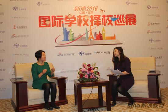 耀华国际教育学校北京校区中方校长孟秀丽女士