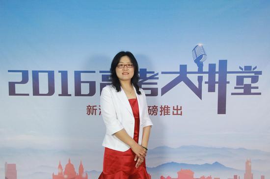 北京联合大学招生就业处副处长鲍桂莲