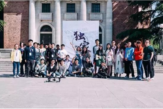 清华大学宣传片主创团队