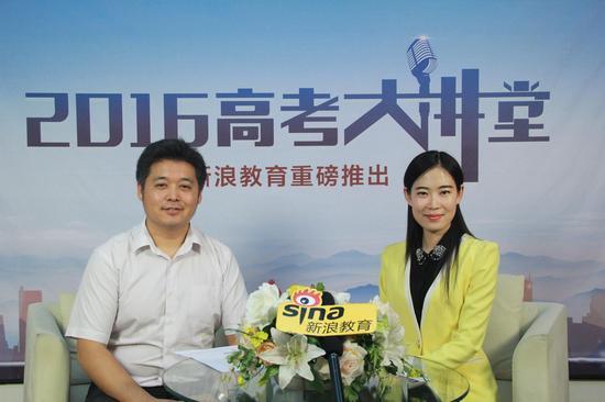 天津工业大学招生就业处处长张玉波