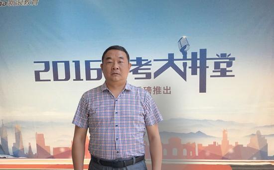 西南科技大学招生就业处处长张昌健
