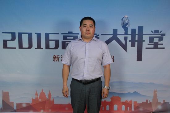 中国传媒大学南广学院招生计划与录取管理科科长刘瑞亮