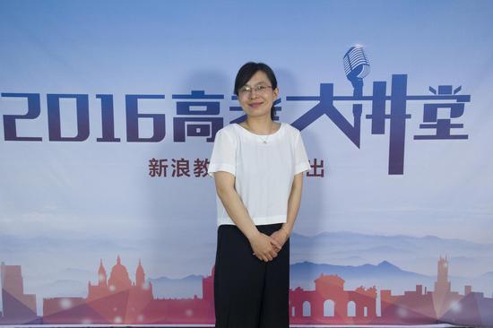 北京物资学院招生办公室主任孙静