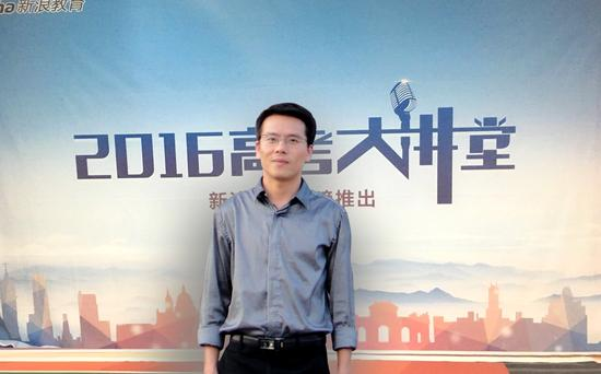 江西农业大学招生办公室主任张利斌