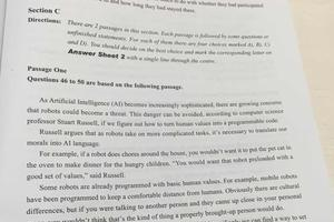 2016年6月大学英语四级真题仔细阅读及答案