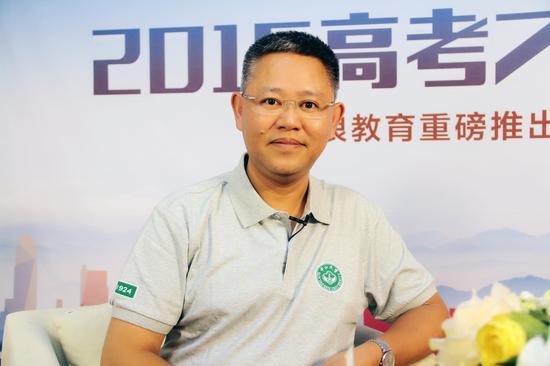 中山大学教务部主任陈敏教授