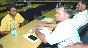 14名名列前茅的考生接受了复试。