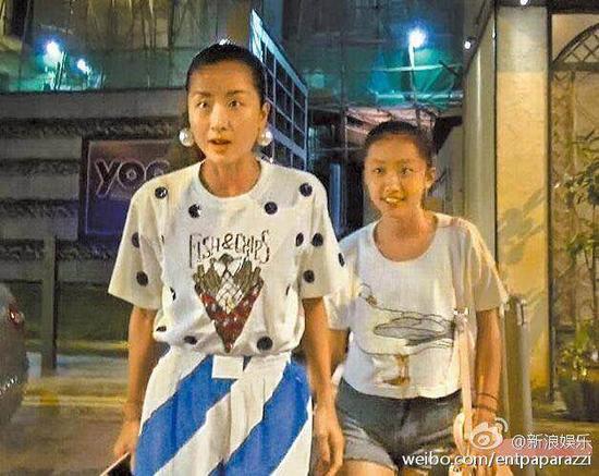 陈康堤与妈妈徐濠萦