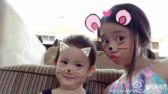 多多和妹妹扮猫咪老鼠