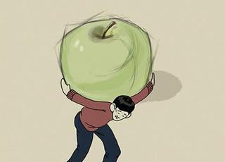 每个美术生背后都有一个鲜为人知的苹果