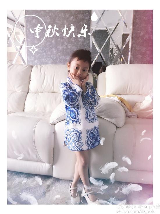 甜馨中秋旗袍装