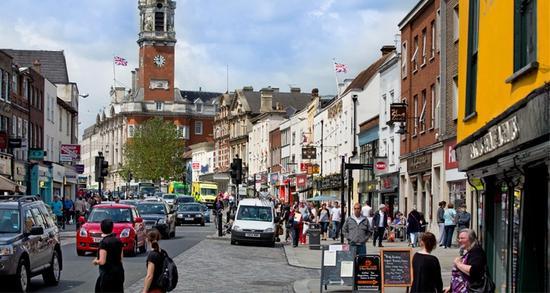 英国最古老的小镇之一——科尔切斯特