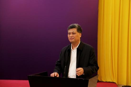 广东省委副书记、深圳市委书记马兴瑞在仪式上致辞。王炎磊 摄