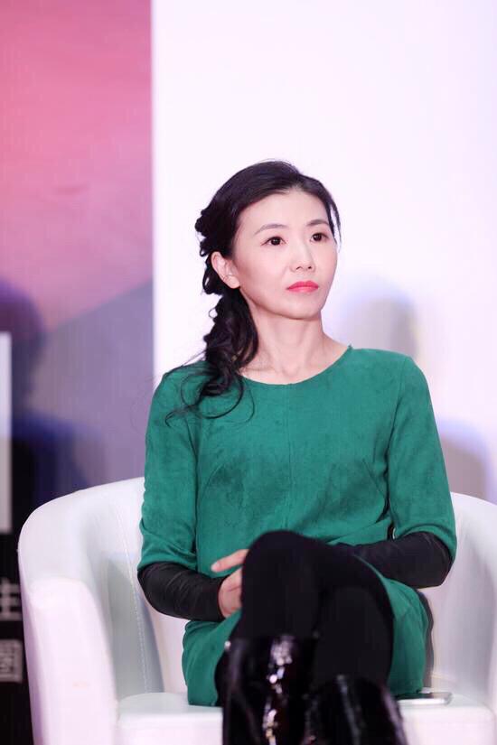 新浪微博渠道市场部副总经理魏莉在新浪2016中国教育盛典高考升学规划行业峰会现场