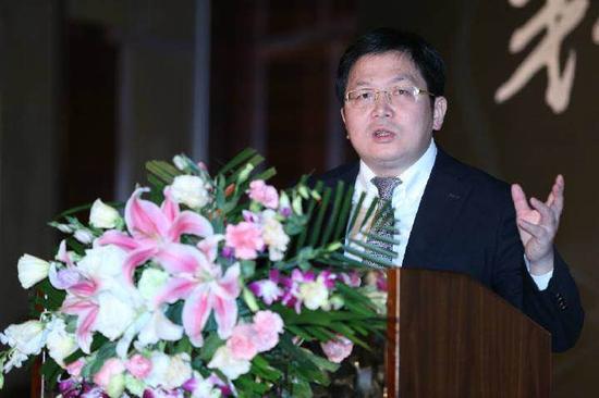 清华大学招办主任刘震在新浪2016中国教育盛典高考升学规划行业峰会
