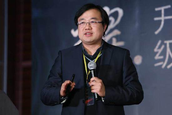 中国科学技术大学招生就业处处长傅尧在新浪2016中国教育盛典高考升学规划行业峰会现场