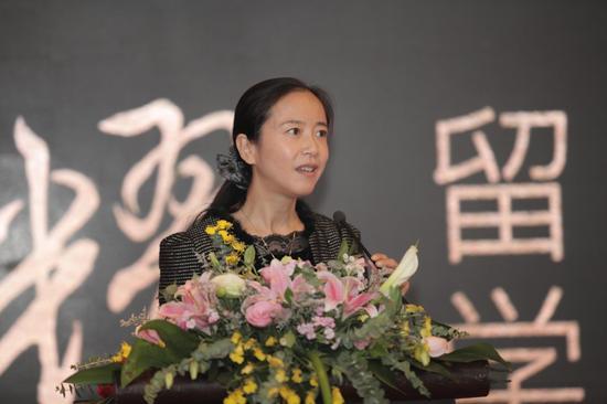 中国教育国际交流协会副秘书长任蕾