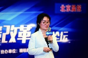 中国人民大学附属中学副校长龚月萍