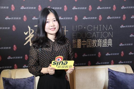 浸泡村国际英语教学部部长李文婕