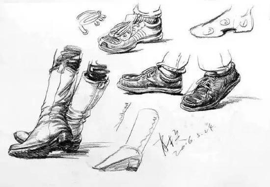 鞋子简笔画步骤图解