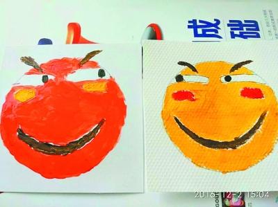 萌翻校园的手绘表情包。