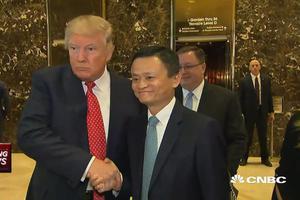 当商人马云遇到美国总统特朗普:在商说外交