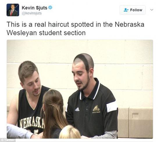 美国大学生360度绕头发型引网友热议