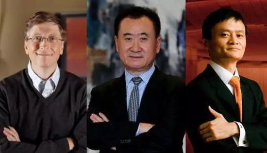 全球十亿美金富豪,中国最多,三分之二是白手起家。