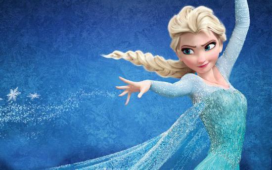 迪士尼公主为何总穿蓝色衣服?
