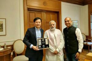 雷军印度讲互联网经验:小米模式在印度会OK