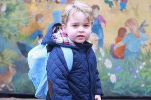 英国乔治小王子将满4周岁 9月就读预备学校