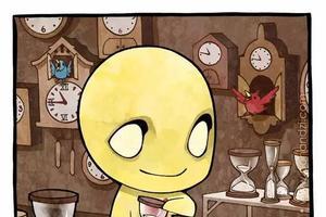 暖心英文漫画:多希望自己是一只章鱼(图)