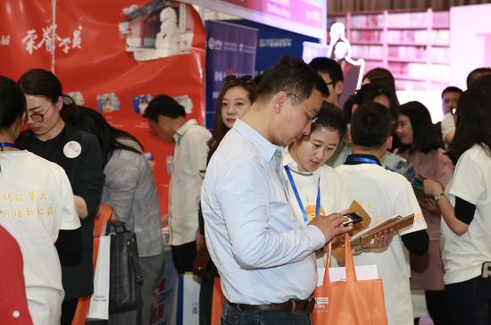TIE2017国际学校择校巡展(上海)现场