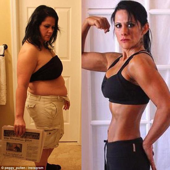 """女子因胖被称""""河马""""受刺激 一年内减重70斤"""