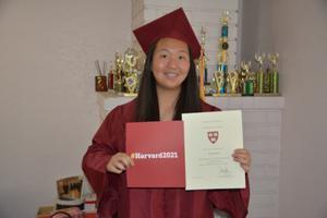 美华裔女生意外获哈佛全额奖学金